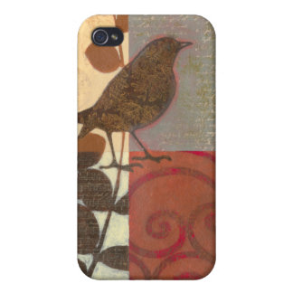 Damask Sparrow iPhone 4/4S Cases