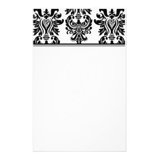 Damask Stationary Stationery