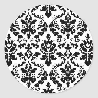 Damask Sticker Seal