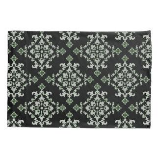 Damask style pillowcase