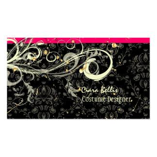Damask + swirls Costume Designer Pack Of Standard Business Cards