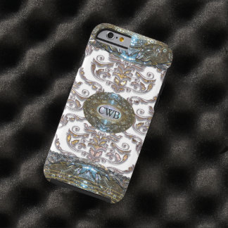 Damask Veyla Baroque Romantic Monogram Tough iPhone 6 Case