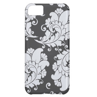 Damask vintage paisley feather wallpaper pattern iPhone 5C case