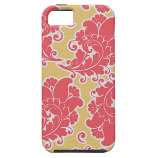 Damask vintage paisley girly chic floral pattern iPhone 5 case