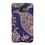 Damask vintage paisley girly floral chic pattern galaxy SII case