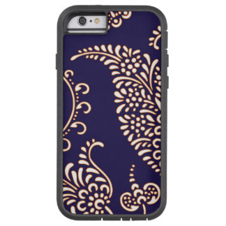 Damask vintage paisley girly floral henna pattern tough xtreme iPhone 6 case
