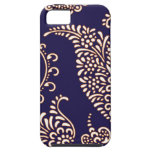 Damask vintage paisley girly floral henna pattern case for the iPhone 5