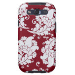 Damask vintage paisley wallpaper floral pattern samsung galaxy SIII cases