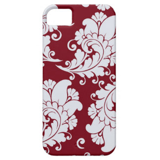 Damask vintage paisley wallpaper floral pattern iPhone 5 cover