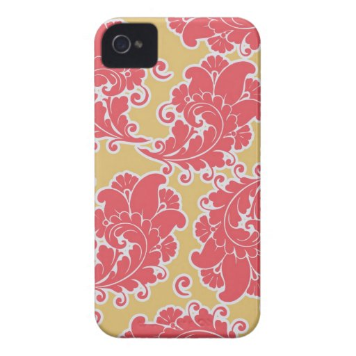 Damask vintage paisley wallpaper iPhone 4S case Case-Mate iPhone 4 Case