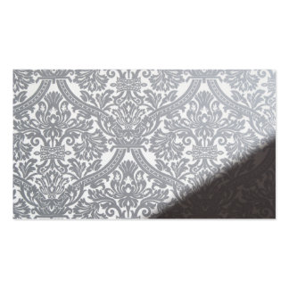 damask wall pattern pack of standard business cards