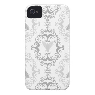 Damask wallpaper insect fly flies pattern case iPhone 4 covers