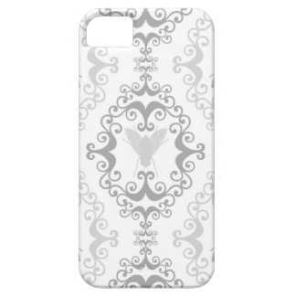 Damask wallpaper insect fly flies pattern case iPhone 5 cases