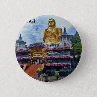 dambulla-cave-temple-sri-lanka angie. 6 cm round badge