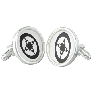 Dame Dame | Symbol for Intelligence and Ingenuity Cuff Links
