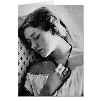 Dame Ellen Terry ~ 1864 Shakespearean Actress Card