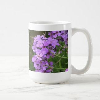 Dame's Rocket Wildflower Coffee Mug
