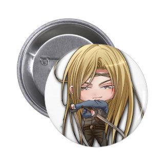 Damian 6 Cm Round Badge
