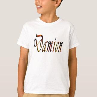 Damien Name Logo, T-Shirt