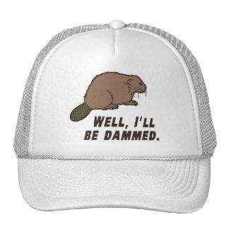 Dammed Beaver Mesh Hat