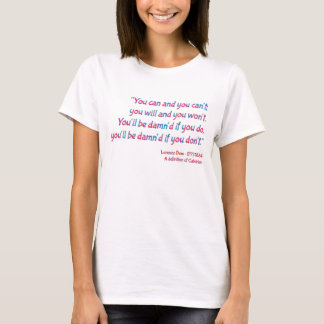 """""""Damn'd"""" Colorful QuoTee for Word Nerds by Aleta T-Shirt"""