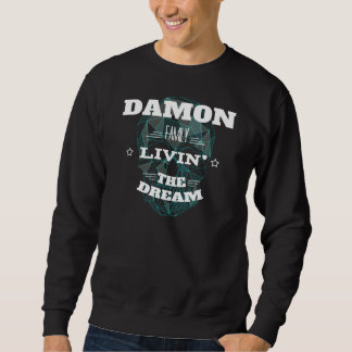 DAMON Family Livin' The Dream. T-shirt