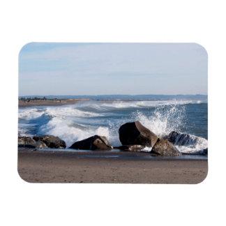 Damon Point at Ocean Shores, WA Magnet