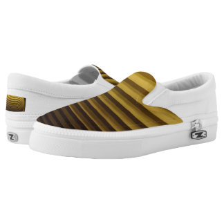 Damper Custom Zipz Slip On Shoes,  Men & Women Printed Shoes