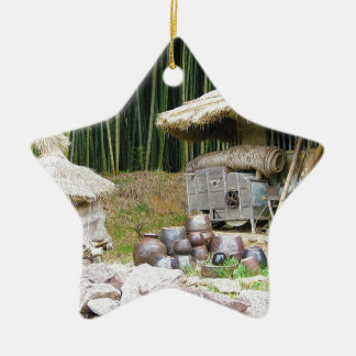 Damyang Bamboo Forests Ceramic Star Decoration