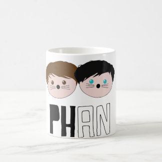 Dan and Phil Phan Art Coffee Mug