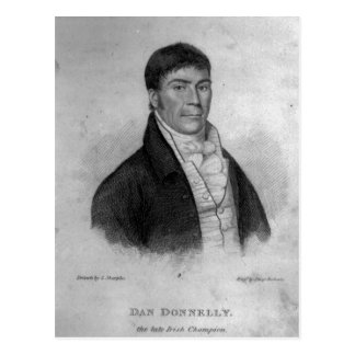 Dan Donnelly, engraved by Percy Roberts Postcard