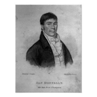 Dan Donnelly, engraved by Percy Roberts Posters