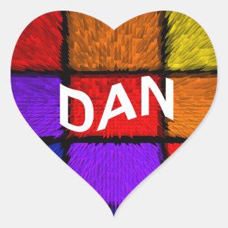DAN HEART STICKER