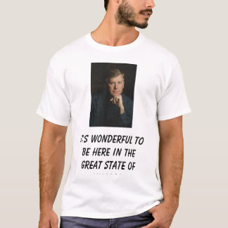 Dan Quayle, It's wonderful to be here in the gr... T-Shirt