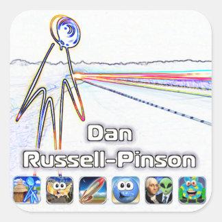 Dan Russell-Pinson Stickers