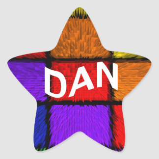 DAN STAR STICKER