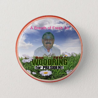 Dan Woodring for President 2012 6 Cm Round Badge