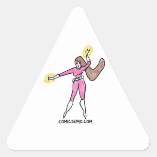 Dana Action Girl Triangle Sticker