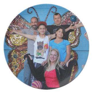 Dana & friends closer plate