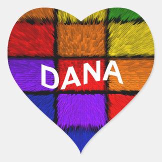 DANA HEART STICKER