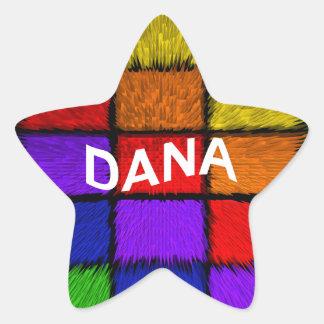 DANA STAR STICKER