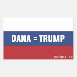 Dana = Trump Russian Flag Sticker