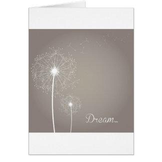 Danadelion Dream Greeting Card