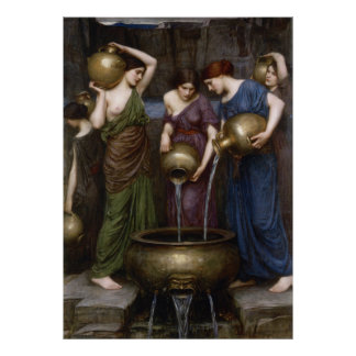 Danaides John William Waterhouse Poster