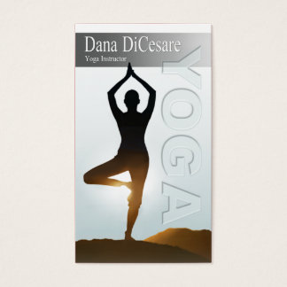 Dana's Vinyasa & Power Yoga Instructor Business Card