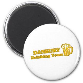 Danbury Drinking Team tee shirts Fridge Magnet