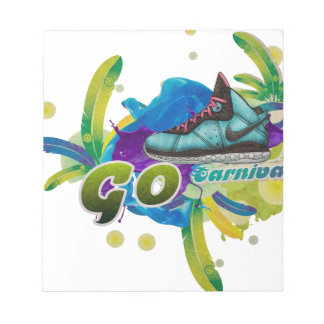 Dance4Life Carnival Notepad