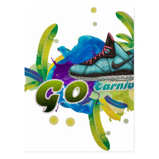 Dance4Life Carnival Postcard