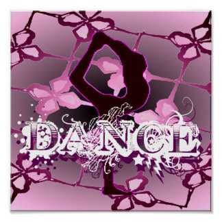 Dance 01 (portfolio poster) poster