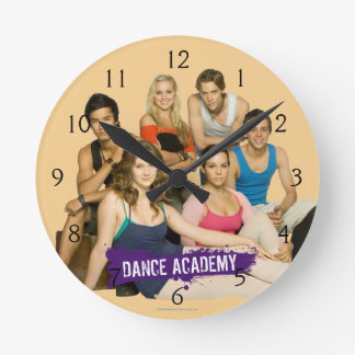 Dance Academy Cast Wallclock